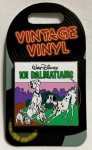 101 Dalmatians Vintage Vinyl Disney Pin